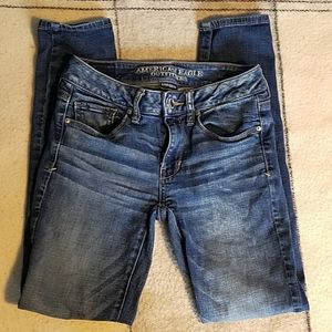 American Eagle Outfitters Stretch Skinny Jeans Sz2